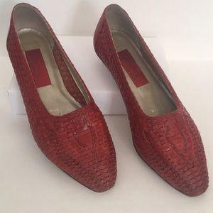 🇺🇸Vintage Novelli sport Simone  leather loafers